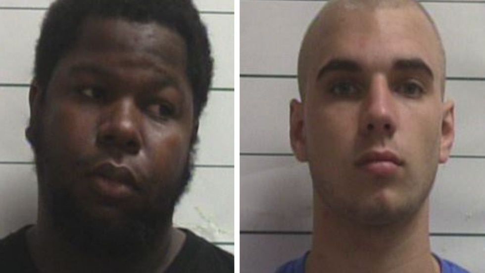 Markez Jefferson (left) and Nathan Saaveda (right) were arrested for their suspected roles in a...