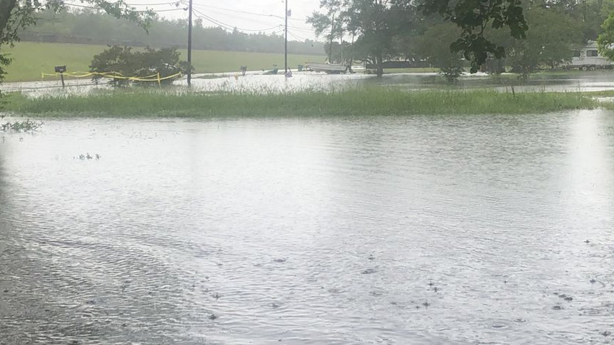 The Greater Baton Rouge area was hit with torrential rains starting Monday, May 17, 2021, that...