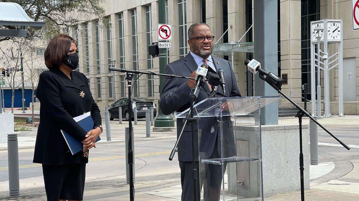 East Baton Rouge Mayor-President Sharon Weston Broome publicly endorsed state Sen. Troy Carter...