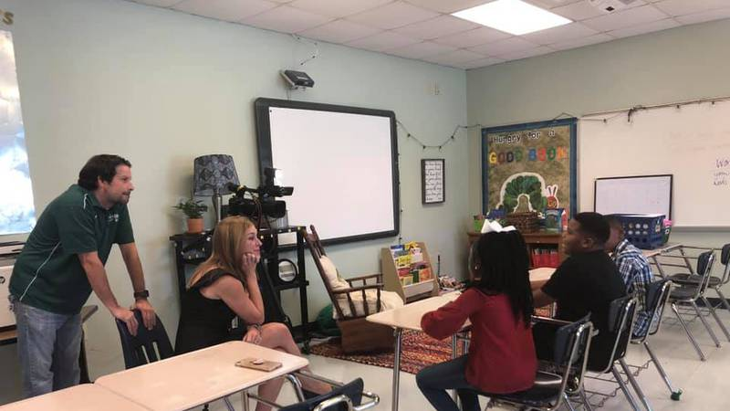 Teachers become celebrities and students become successful thanks to the creativity at Lowery...