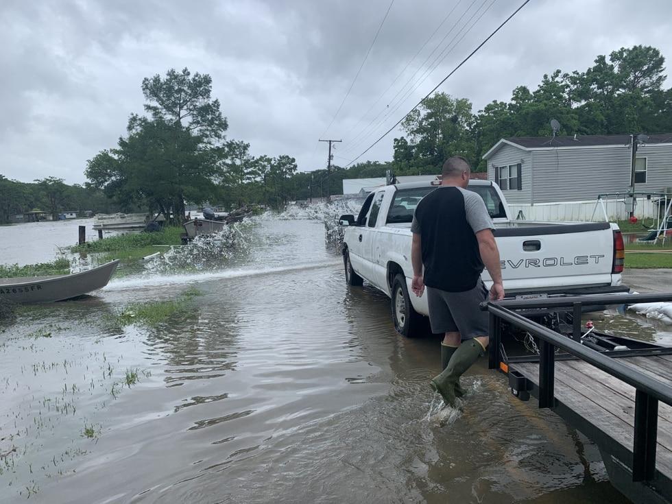 Assumption Parish flooding