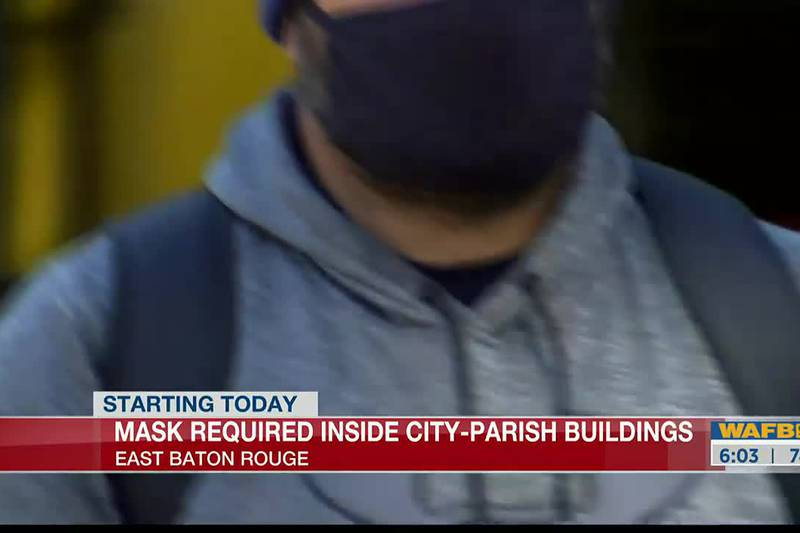 Masks required inside city-parish buildings