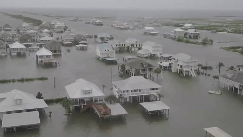 The slow-moving storm was the first hurricane for the U.S. this year, and its heavy rain could...