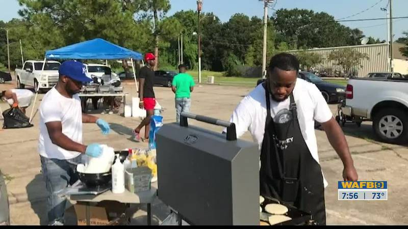 Jeffrey Joseph went above and beyond for his neighbors and gave out free food that he cooked on...