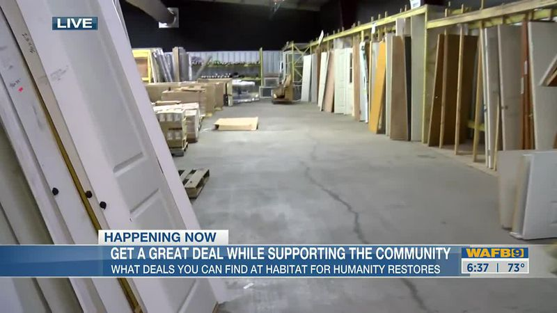 Giving back to the community with Habitat for Humanity ReStore
