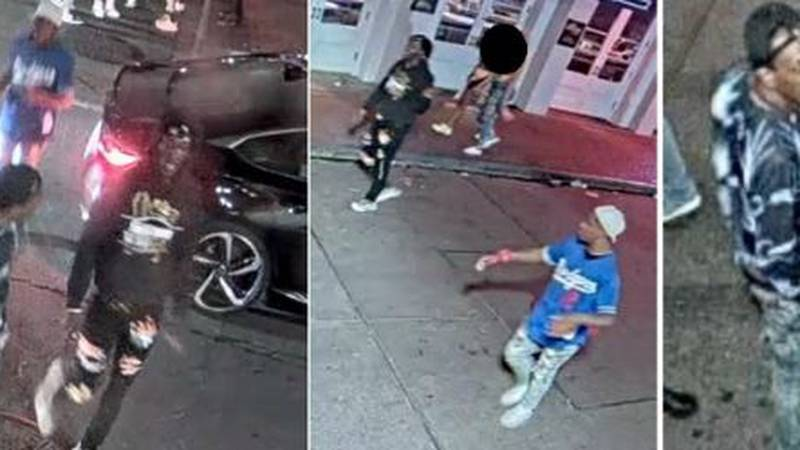 The NOPD is searching for three individuals sought for questioning as persons of interest in...