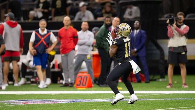 Deonte Harris is entering Year 3 with the New Orleans Saints.