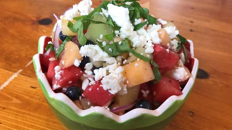 Summer Melon Berry Salad