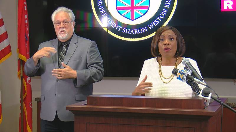 Mayor-President Sharon Weston Broome signed an executive order on July 1 mandating face...