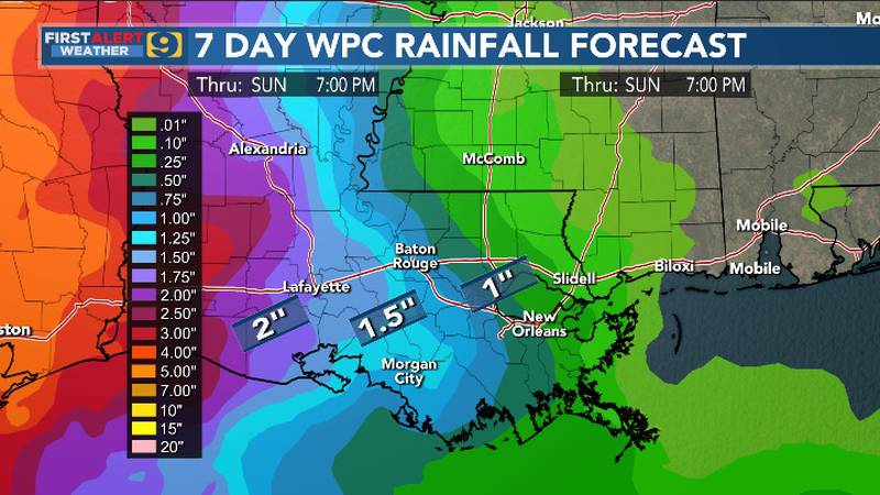 FIRST ALERT FORECAST: Sunday, May 16