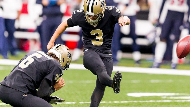 Saints kicker Wil Lutz