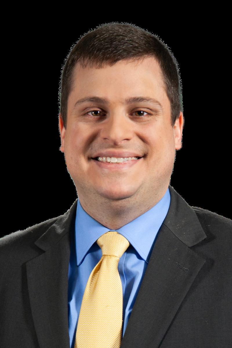 Headshot of Jeff Morrow, Weathercaster