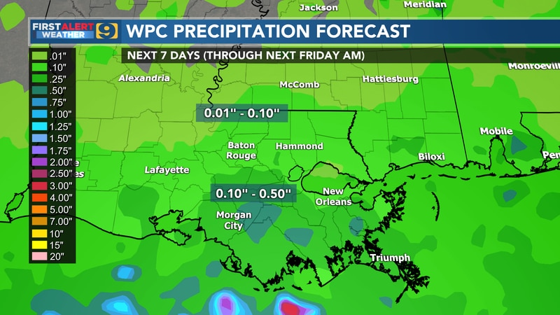 FIRST ALERT FORECAST: Friday, August 6