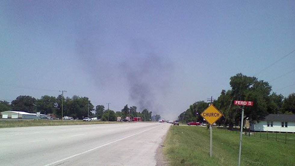 Smoke billows from Air Liquide plant explosion between Port Allen and Erwinville