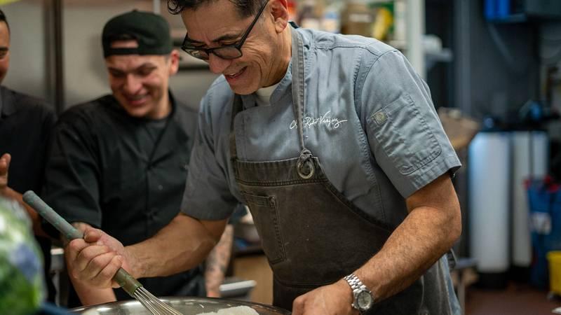 Chef Rob Vazquez